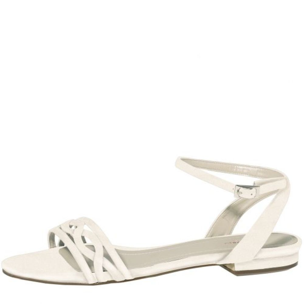 Brudesandal off-white